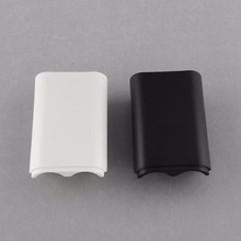 Cewaal New Replace Battery Pack Cover Compartment Shield Case Kit for Xbox 360 Wireless Controller Gamepad 2 Color White/Black(China)