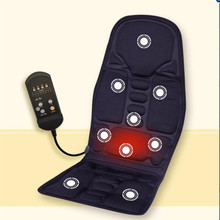 2 in 1 Car Home Full Body House Heating Vibrating Massage Mattress Electronic Therapy Massager Chair Sofa Seat Recliner Cushion