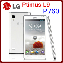 Original Unlocked LG Optimus L9 P760 Dual Core 5MP GPS WIFI LTE 4GB ROM  Smart Phone Free Shipping