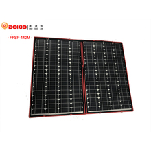Dokio 100W 120W 140W (70Wx2Pcs) 18V Flexible Black Solar Panels China Foldable + 12/24V Volt Controller 140 Watt Panels Solar