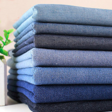 Fashion 7 Patterns Blue Black 100% Cotton Denim Fabric Bundle for bag doll cloth dress etc 50x35cm