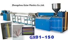 1 Color or Clear PP PE Plastic Drinking Straws Extrusion Production Line/Food Grade Plastic Straws Making Machines/CE Approved(China)