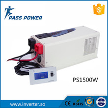 Factory Directly Sell Combined Inverter with Charger Low Frequency Inverter 1500W Solar Power Inverter(China)