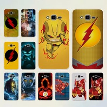 Comic Book Collages flash man logo design hard White Case cover for Samsung Galaxy J5 2017 J7 J3 2016 J2 J1 J7 Prime