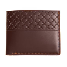 Fashion Men PU Leather Wallet Card Clutch Cente Bifold Wallet Mens Card Holder Plaid Design Purses Pockets 1STL