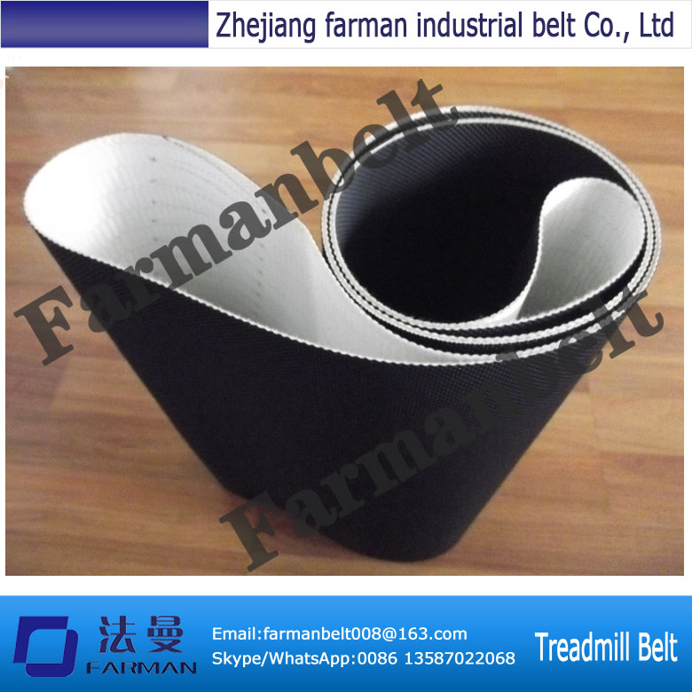 Small PVC treadmill conveyor belt with 1.2mm thickness<br>