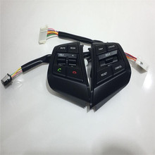 Remote Cruise Control Button Car Steering Wheel Control Buttons with cables For Hyundai ix25 1.6(China)
