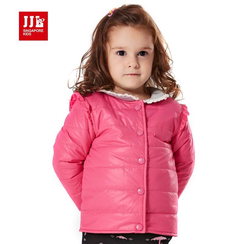 JJLKIDS 2015 baby girl clothes winter coat sweet girl jacket falbala shoulder warm clothing baby fashion cotton-padded coatОдежда и ак�е��уары<br><br><br>Aliexpress