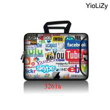 10.1 11.6 13.3 14.1 15.4 15.6 17.3 inch Laptop briefcase computer Bag Notebook sleeve Ultrabook Case for HP ASUS ACER SBP-3261(China)