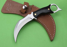 Cs go karambit Camping Survival Neck Knife 5Cr13 Blade Micarta Handle Outdoor Multi Knives Hunting EDC Tools Best Quality - Professional and store