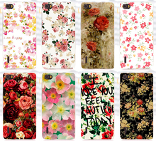 2015 Top Selling Pattern Rose Flower Phone Case Back Cover For Huawei Honor 6 Honor6 Cases Covers Skin Shell Coque Capa