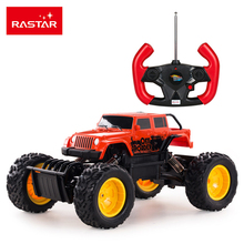 Large Size Rastar 4WD RC Cars Rock Crawler Remote Control Cars Toys For Boys 4x4 Drive Truck Machine On The Radio Control 59100