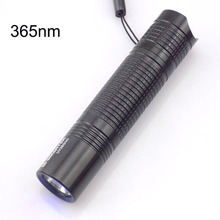 Mini Led UV flashlight 365nm Purple Ultra Violet Flash light torch AA battery Torch Lamp Blacklight for Money Checker Detection