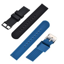 Bemorcabo 2pcs Quick Release Watch Bands 18mm, 20mm or 22mm Soft Silicone Replacement Watch Straps for Huawei watch
