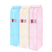 Hot Storage Bag Case for Clothes Organizador Garment Suit Coat Dust Cover Protector Wardrobe Storage Bag for Clothes Organizador(China)