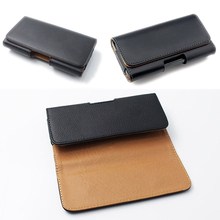 Belt Clip Holster Faux Leather Cases Pouch for Apple iPhone Phones Cover Bag
