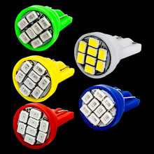 20pcs T10 194 2825 W5W 8 led 3020 smd Car marker light reading dome Lamp door lamp Auto Clearance Lights License Plate bulbs 12V(China)
