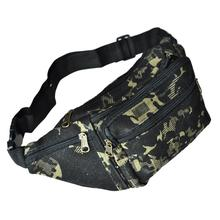 TEXU Fashion camouflage Fanny Bag Waist Pack Multi Leisure Mobile Phone Travel Camera Bags