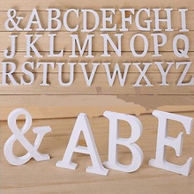 1pcs small wood letters english alphabet crafts miniatures wedding festivals birthday party supplies home decoration accessories