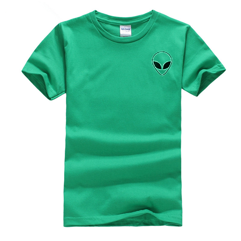 19 couleur S-XL Plaine T Shirt Femmes Coton Élastique De Base Chemises Casual Tops À Manches Courtes Harajuku Alien T-shirt Femme Vêtements 21