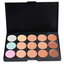 10*15CM professional Concealer Neutral Palette 15 colors Makeup color cosmetic set scar cream Face Camouflage Body Foundation(China)