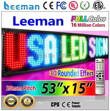 Leeman led video panels or led billboards outdoor waterproof led display screen controller card LINSN system bluetooth wifi 3g