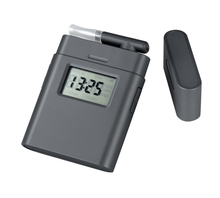 portable Mini digital blood alcohol breathalyzer tester(0.000%-0.199% BAC (0.00-1.99g/l) with backlight(China)