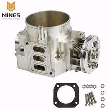 70MM THROTTLE BODY FOR Honda RSX DC5 CIVIC SI EP3 K20 K20A CNC INTAKE THROTTLE BODY PERFORMANCE ms100851