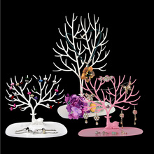 Creative Antlers Jewelry Racks Accessories Rack Ornaments Shelf Display European Style Storage Holder Hot Sale 2017 Tree Branch(China)