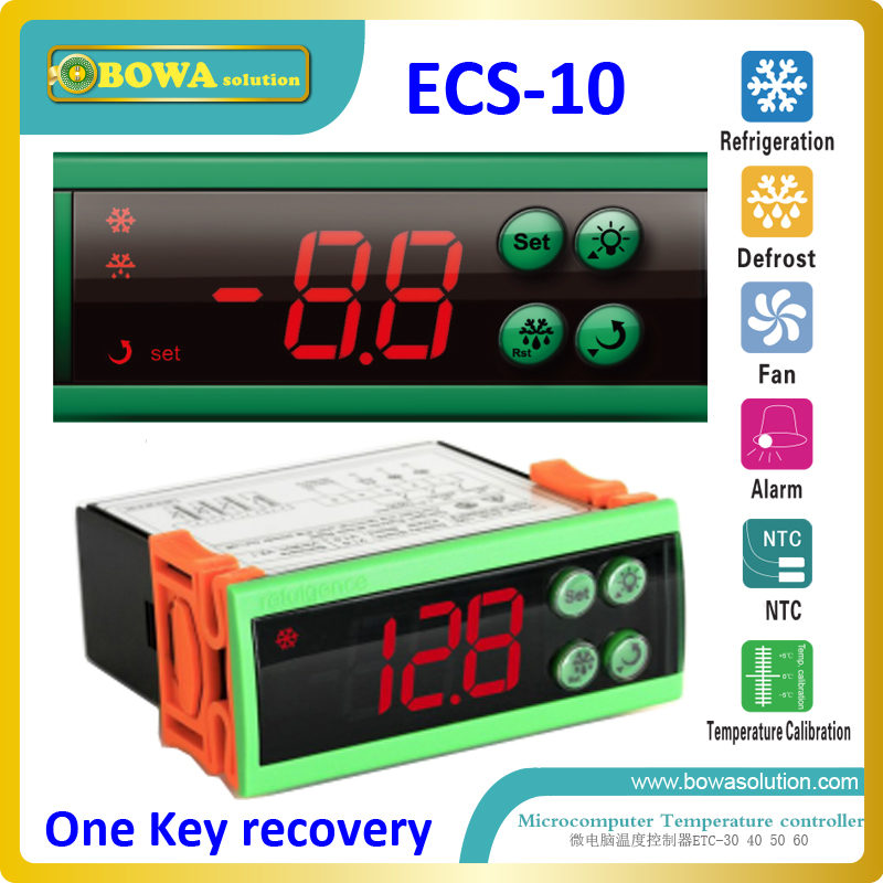 One key recovery temperature controller for beverage cabinet replace Dixell XR01CX, ELIWELL IC901 and Carel easy cool thermostat<br><br>Aliexpress