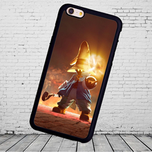 Popular Game Final Fantasy Phone Cases Accessories For iPhone 6 6S Plus 7 7 Plus 5 5S 5C SE 4S Soft Rubber Cover Shell