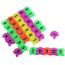 36 Pcs Fun Numbers Jigsaw Puzzle Toy Children Early Learning arithmetic Puzzle Games Plastic Educational Products Toy(China)