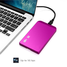 "External Enclosure for Hard Drive Disk Usb 3.0 Ultra Thin Sata 2.5"" Hdd Portable Case Red high quality"