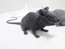 29CM Lifelike PVC Black white gray the simulation mouse model Practical Jokes toys For Kids April fool's day