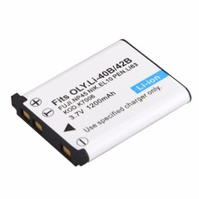 1200mah EN-EL10 ENEL10 Camera Battery for Nikon COOLPIX S200 S210 S500 S510 S5100 S520 S60 S600 S700 S800 Camera Battery(China)