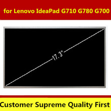 "17.3"" Laptop Matrix LCD Screen Panel B173RW01 V.3 V.5 V.4 N173FGE-L23 For Lenovo IdeaPad G710 G780 LCD Display Replacement"