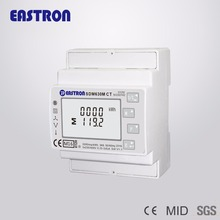 SDM630MCT with 3pcs 100A/5A CT, 3 phase power analyser, ESCT-T24 100/5A current transformer, Modbus/pulse output