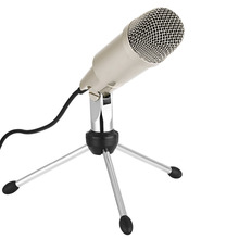 Neewer Desktop USB Microphone with Metal Stand,Windows and Mac OS Systems, Perfect for Sound Recording,Video Games(Sliver)