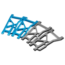 FS Racing 1/10 Metal Upgrade Rear Lower Suspension Arm 513008 OP Desert Buggy Truck RC Car Parts(China)