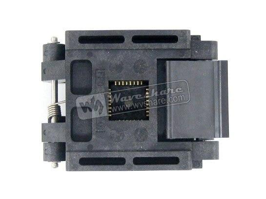 QFP32 TQFP32 FQFP32 PQFP32 FPQ-32-0.8-01 Enplas IC Test Burn-in Socket Programming Adapter 0.8mm Pitch<br><br>Aliexpress