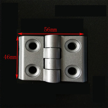 Zinc Alloy Closet Cabinet Door Butt Hinge Black 46*56 mm hinge for co2 laser engraving and cutting machine