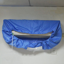 2017 New Style Blue Waterproof Air Conditioner Cover, Dust cover,Keep Air Conditioner Clean,1P-1.5P(China)