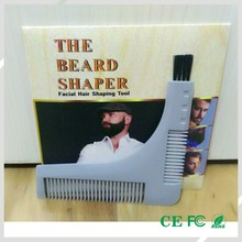 Good Quality Beauty Salon Equipment Human Hair Beard Comb(China)