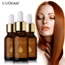 LUODAIS Hair Care Essential Oil Makeup Hair Type Argan Oil Cosmetics keratin Hair Straightening Oil Hair coconut oil(China)