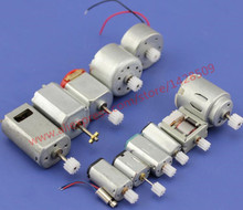 12 pcs different Micro mini Motor DC Motor with gear For DIY Motor Scientific Experiments Technology Teaching Making(China)