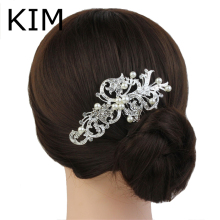 Acessories Para Cabelo Sale Rushed 2014 Bridal Hair Accessories Wedding Tiara Ivory Pearl Floral Comb - Jewelry Bridesmaid Bride