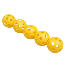 12pcs Airflow Hollow Golf Practice Training Balls Indoor Flexible Brand New(China)