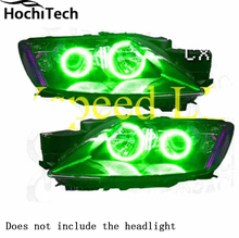 For Mazda cx-7 cx 7 2006 2007 2008 2009 2010 2011 2012 LED perimeter headlight rings halo Multi-color RGB angel demon eyes