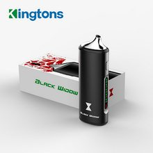 100% Original Black Widow Kingtons dry herb mod box arua 2200mah herbal vaporizer vape storm pen e cigs cigarette black widow(China)