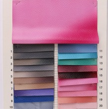 0.9mm thick Gradual change color synthetic PU leather/ imitation leather/ faux leather for handbag material/ shoes fabric